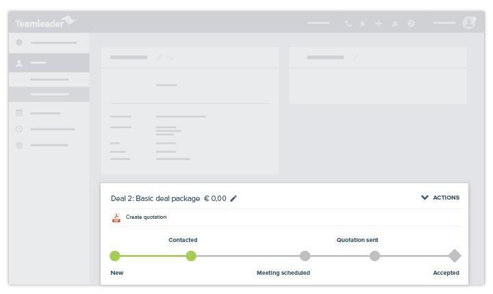 Teamleader - CRM - deals
