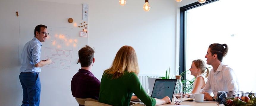 """Partners for Design: """"Dankzij de integratie met ClearFacts hebben we nu altijd inzicht in onze boekhouding."""""""