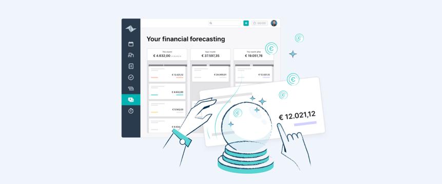 Voorspel je opbrengst met Teamleaders Financiële Forecast