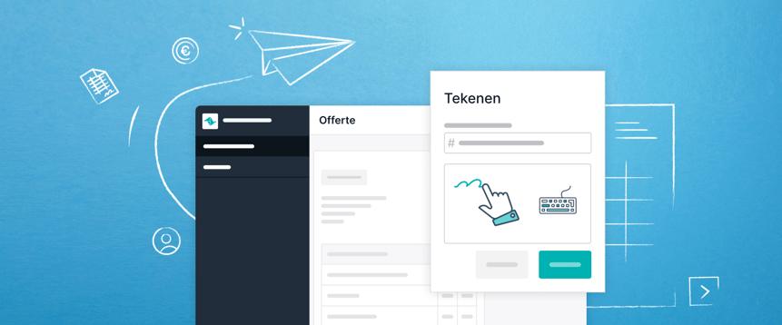 Teamleader-offertes worden dubbel zo snel getekend. Dankzij het vernieuwde Cloudsign.