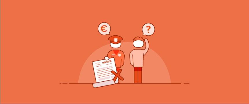 Boetes door foute facturen: een dure grap voor ondernemers