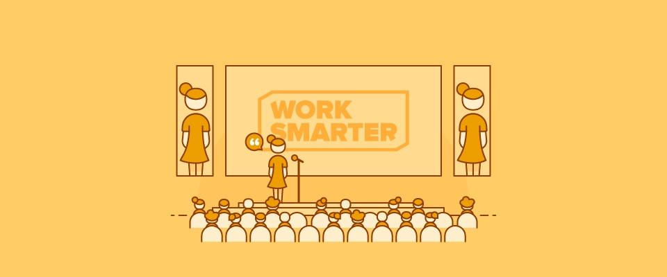De 9 strafste quotes die je hoorde tijdens Work Smarter