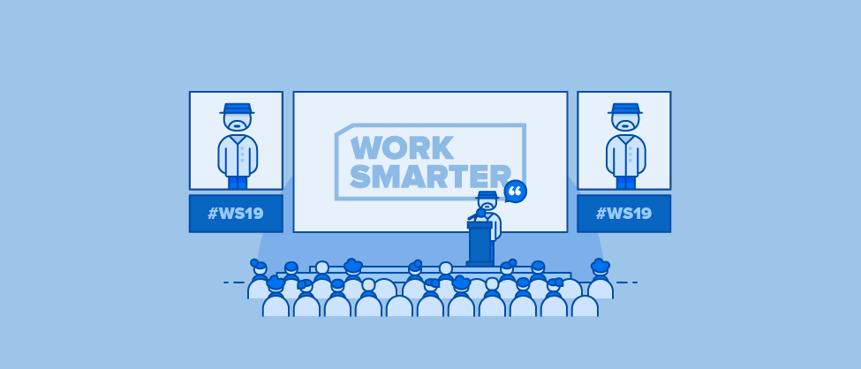 Hoe Vlaamse ondernemers slimmer werken: inspiratie van Work Smarter 2019
