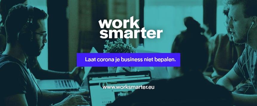 Work Smarter: join the community en wapen je tegen de impact van Corona