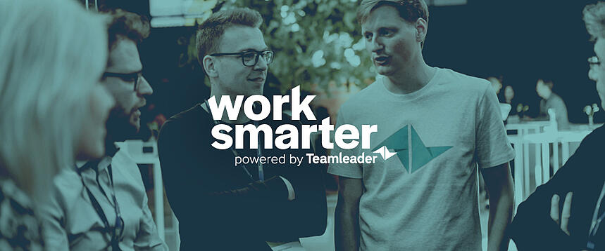 Work Smarter, hét event voor ambitieuze kmo's, op 7 mei in Gent. 3 vragen aan Teamleader CEO Jeroen