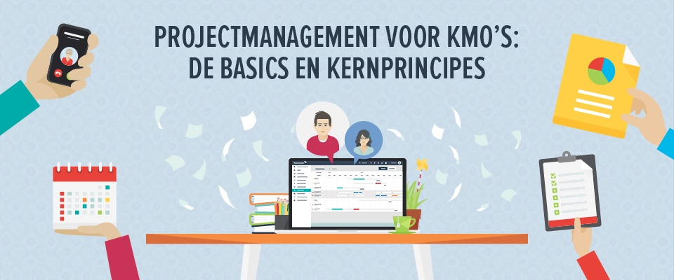 Projectmanagement voor kmo's: de basics en kernprincipes